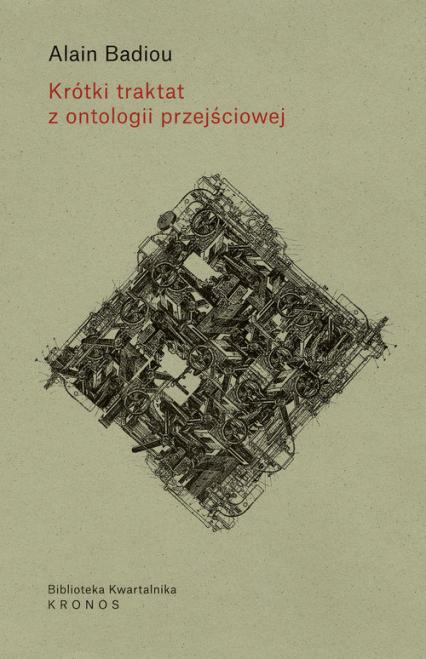 Krótki traktat z ontologii przejściowej - Alain Badiou | okładka
