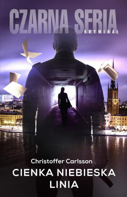Cienka niebieska linia - Christoffer Carlsson | okładka