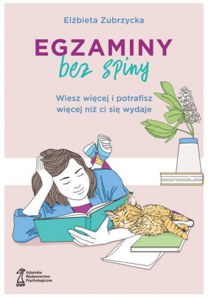 Egzaminy bez spiny - Elżbieta Zubrzycka   okładka