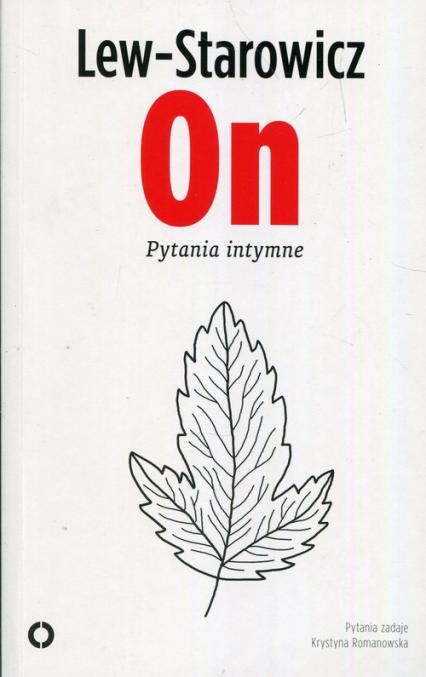On Pytania intymne - Zbigniew Lew-Starowicz | okładka