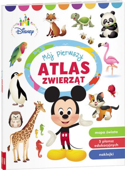 Disney Maluch  Mój Pierwszy Atlas Zwierząt PON-1 -  | okładka