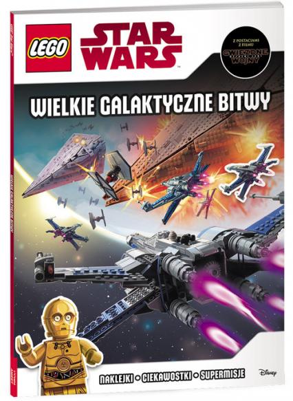 Lego Star Wars Wielkie Galaktyczne Bitwy LSG-301 -  | okładka