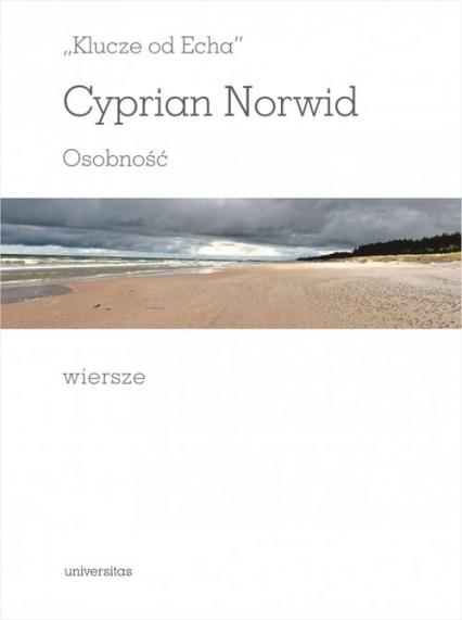 Klucze od echa - Cyprian Norwid | okładka