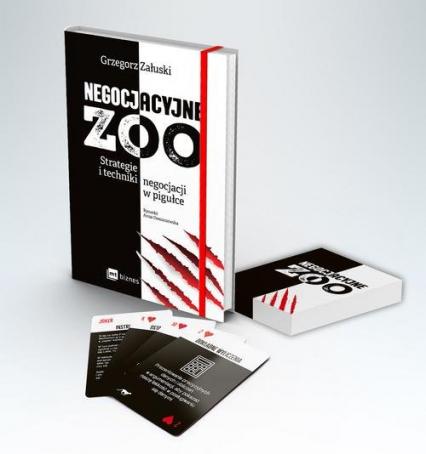Negocjacyjne zoo (pakiet) Strategie i techniki negocjacji w pigułce - Grzegorz Załuski | okładka