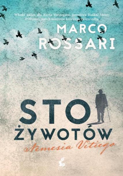 Sto żywotów Nemesia Vitiego - Marco Rossari | okładka