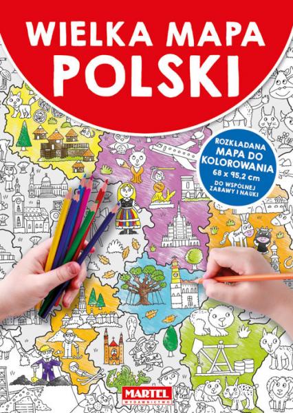 Wielka mapa Polski -  | okładka
