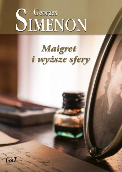 Maigret i wyższe sfery - Georges Simenon | okładka