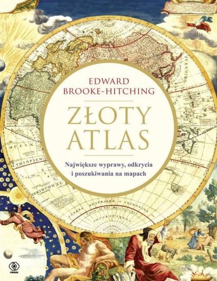 Złoty atlas - Edward Brooke-Hitching | okładka