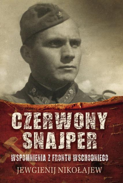 Czerwony snajper - Jewgienij Nikołajew   okładka