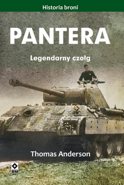 Pantera Legendarny czołg - Thomas Anderson | okładka