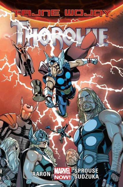 Tajne wojny Thorowie - Jason Aaron | okładka