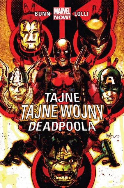 Tajne tajne wojny Deadpoola - Cullen Bunn | okładka