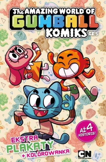 Gumball Komiks nr 5 -  | okładka