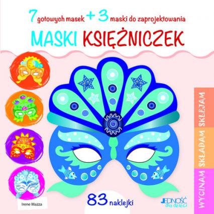 Maski księżniczek - Irene Mazza | okładka
