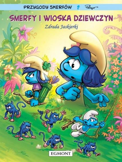 Smerfy i Wioska Dziewczyn Tom 2 Zdrada Jaskierki - Thierry Culliford, . Parthoens | okładka