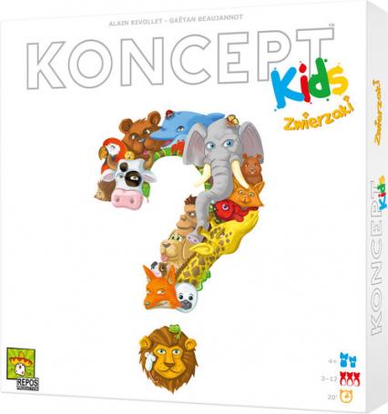 Koncept Kids Zwierzaki -  | okładka