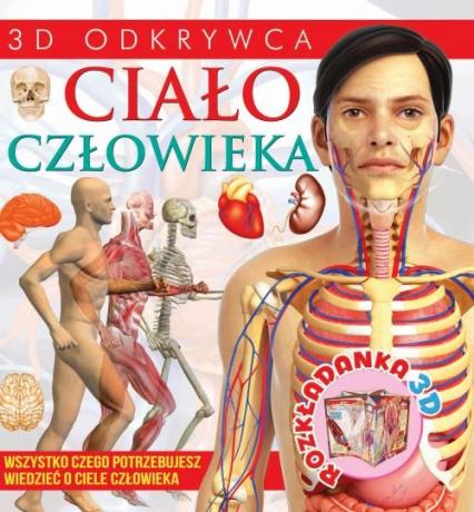 Rozkładanka 3D Ciało człowieka - zbiorowa Praca | okładka