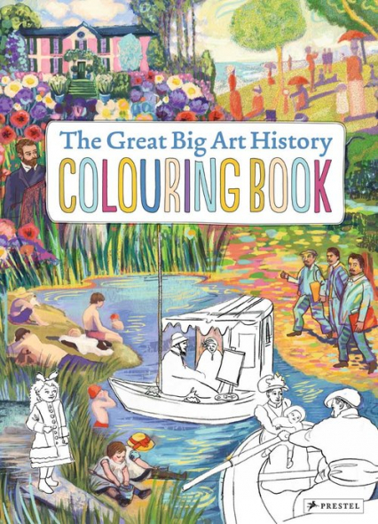 Great Big Art History Colouring Book - von Sperber Annabelle, Rebscher Susanne | okładka