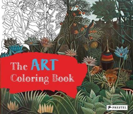 Art Coloring Book - Annette Roeder | okładka