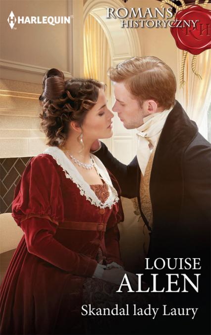 Skandal lady Laury - Louise Allen | okładka