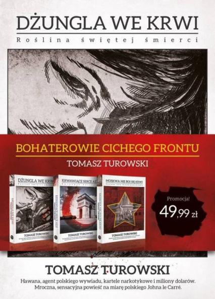 Bohaterowie cichego frontu Pakiet - Tomasz Turowski | okładka