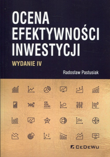 Ocena efektywności inwestycji - Radosław Pastusiak | okładka