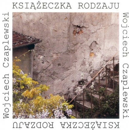 Książeczka rodzaju - Wojciech Czaplewski | okładka