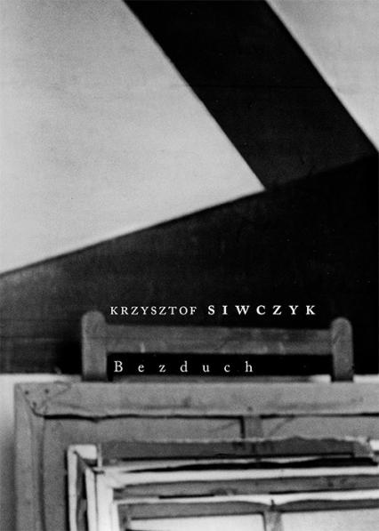 Bezduch - Krzysztof Siwczyk | okładka