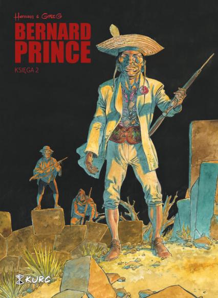 Bernard Prince Księga 2 - Greg Hermann, | okładka