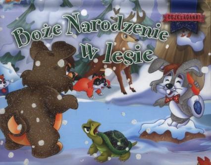 Boże Narodzenie w lesie Rozkładanki -  | okładka