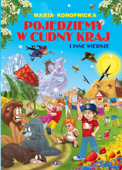 Pojedziemy w cudny kraj - Maria Konopnicka | okładka