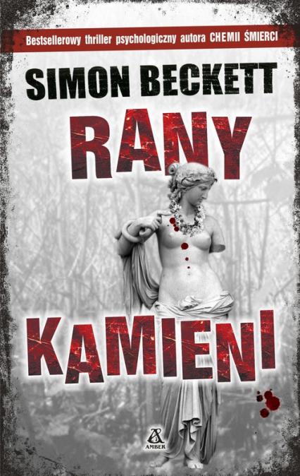 Rany kamieni - Simon Beckett | okładka