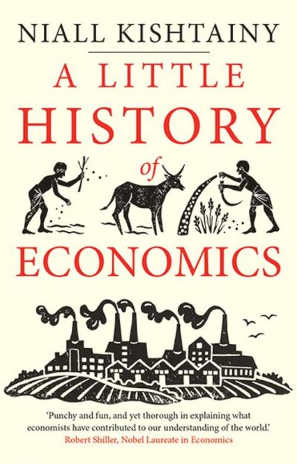 Little History of Economics - Niall Kishtainy   okładka