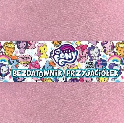 My Little Pony Cutie Mark Crew Bezdatownik przyjaciółek -  | okładka