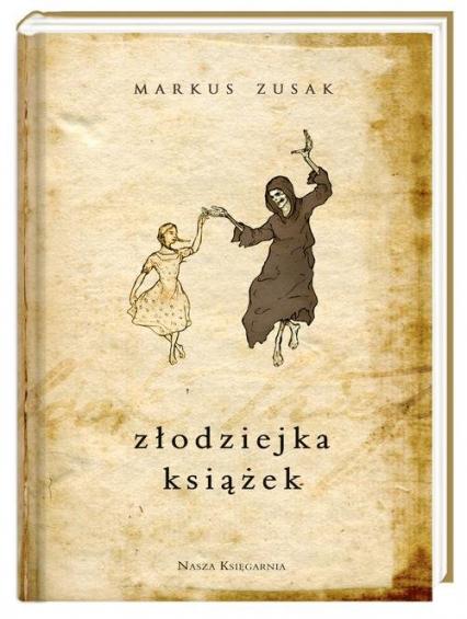 Złodziejka książek - Markus Zusak | okładka