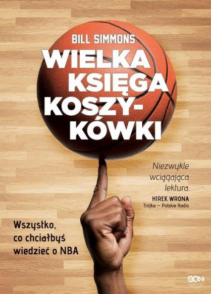 Wielka księga koszykówki - Bill Simmons | okładka