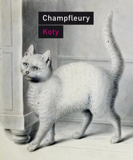 Koty Historia, zwyczaje, obserwacje, anegdoty - Jules Champfleury | okładka