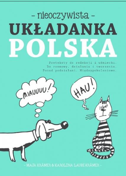 Nieoczywista Układanka Polska - Kramer Maja, Laube Kramer Karolina | okładka
