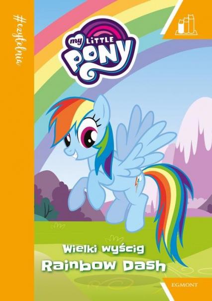 My Little Pony Wielki wyścig Rainbow Dash -  | okładka