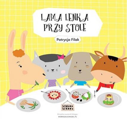 Lama Lenka przy stole - Patrycja Filak | okładka
