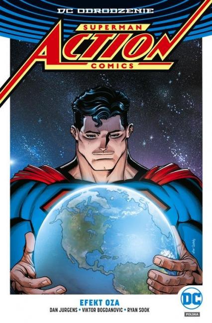Superman Action Comics Tom 5 Efekt Oza - Jurgens Dan, Williams Rob | okładka