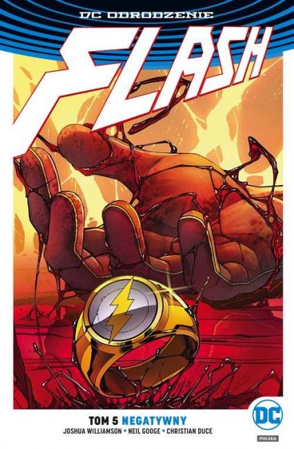 Flash Tom 5 Negatywny - Joshua Williamson   okładka