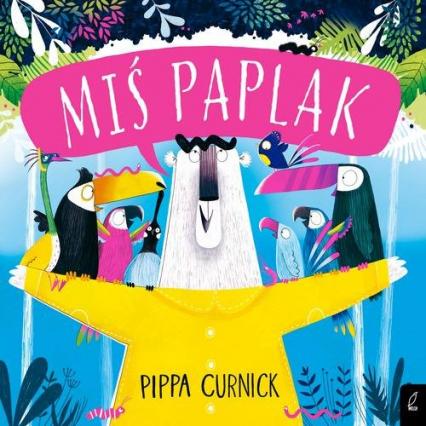 Miś Paplak - Pippa Curnick | okładka