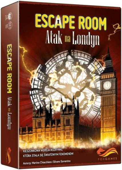 Escape Room Atak na Londyn - Chiacchiera Martino, Sorrentino Silvano   okładka