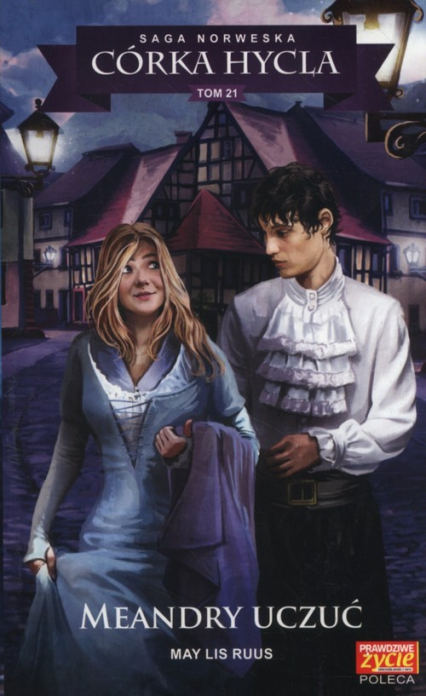 Córka hycla Tom 21 Meandry uczuć - Ruus May Lis   okładka