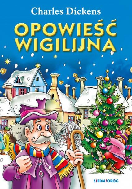 Opowieść Wigilijna - Charles Dickens | okładka