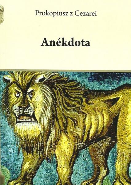 Anekdota - Prokopiusz z Cezarei | okładka