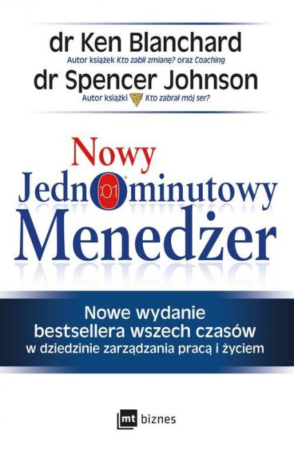 Nowy Jednominutowy Menedżer - Blanchard Ken, Johnson Spencer   okładka