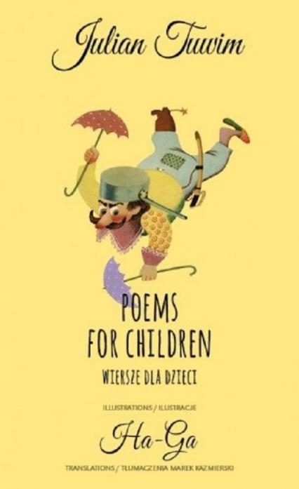 Poems for children Wiersze dla dzieci - Julian Tuwim | okładka