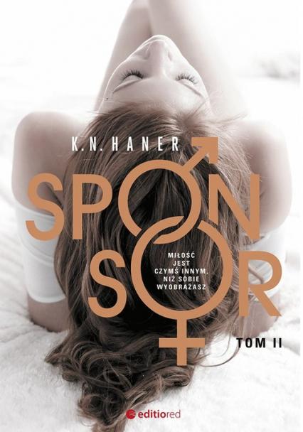 Sponsor Tom 2 - K.N. Haner | okładka